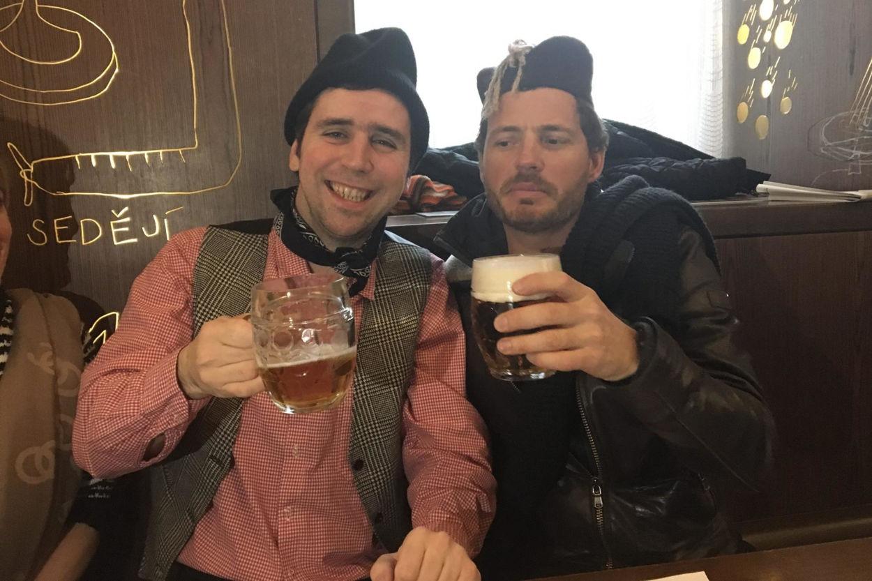 Picture of Prague beer hunt